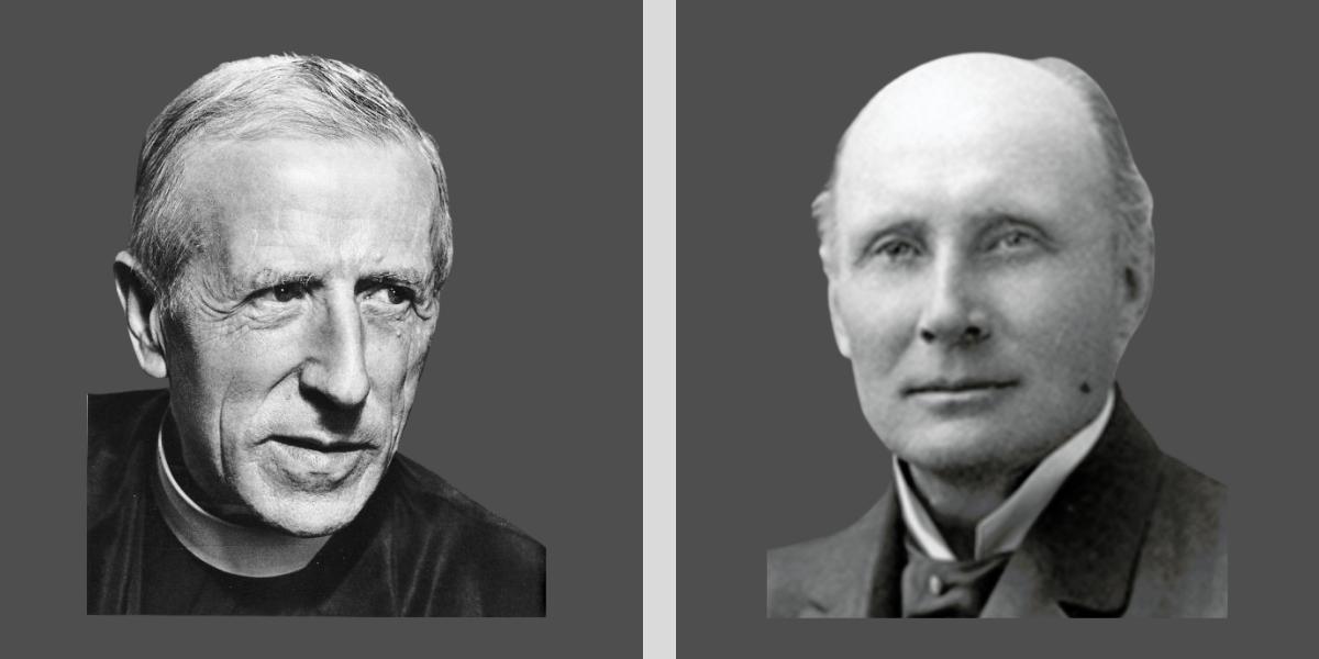Tielhard and Whitehead